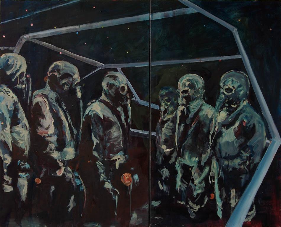 prelude - olieverschilderij door bart vinckier