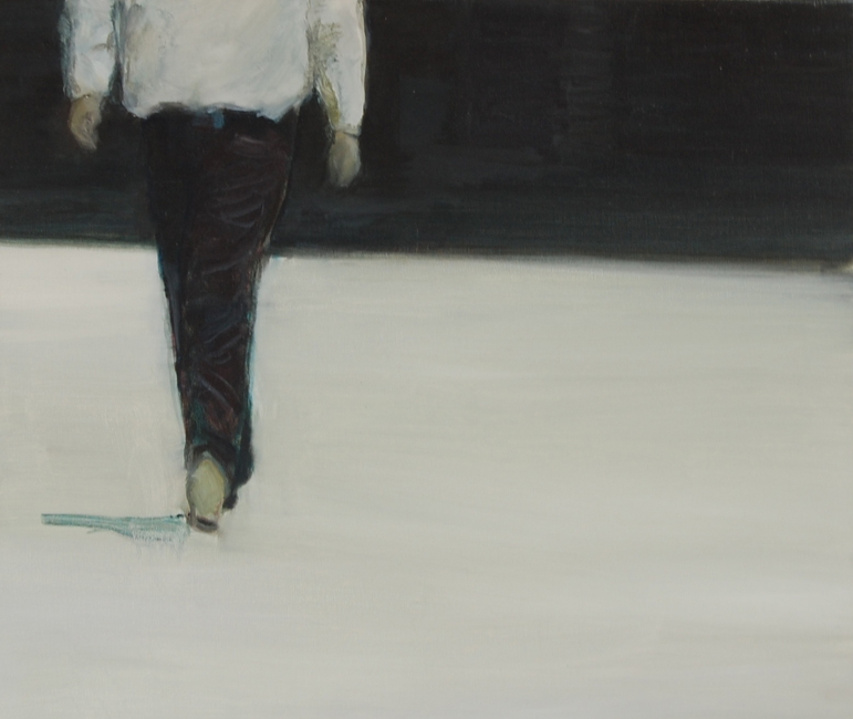 The Walk60 x 80 cm, oil on canvas © bart vinckier