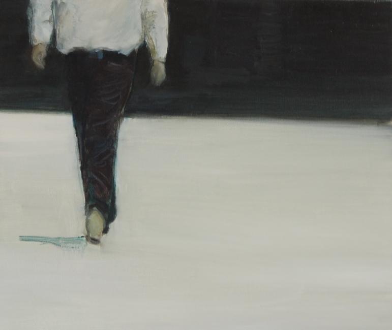 The Walk60 x 80 cm, oil on canvas © bart vinckier