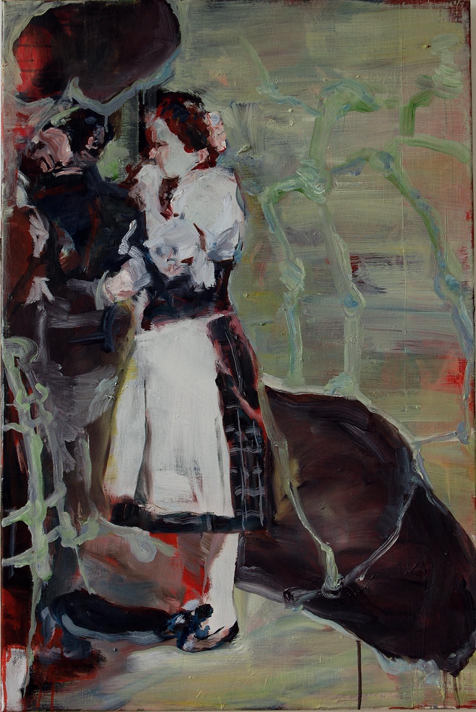 valse - olieverschilderij door Bart Vinckier