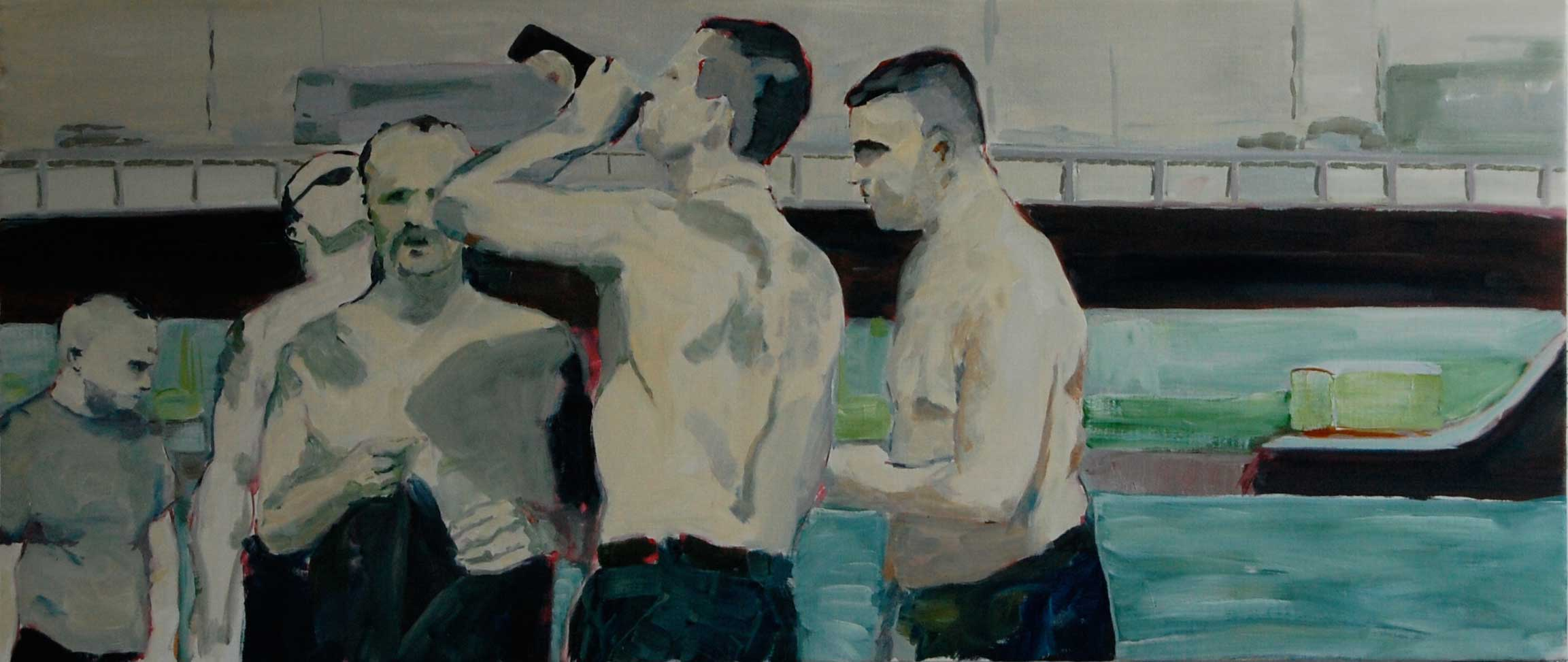 Freizeit - an unbelievably good painting by Bart Vinckier