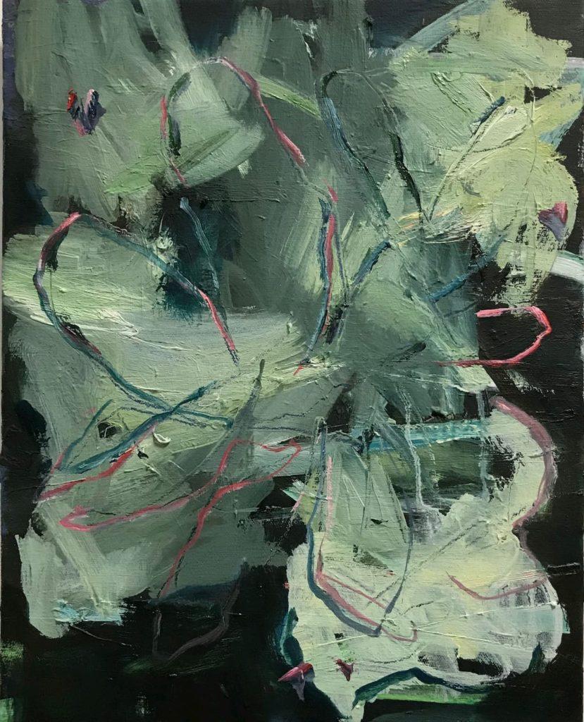 niet dit niet dat dan wat - abstract painting by Bart Vinckier